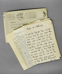 Briefe Kurt Landauer und Maria Baumann