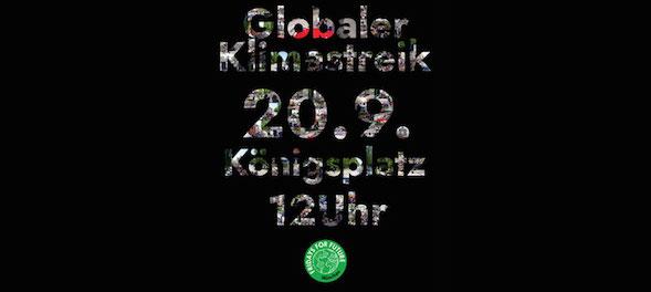 Klimastreik München 20.9.