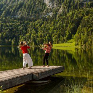 Wanderkonzert im schönen Tal von Elmau am 17. August