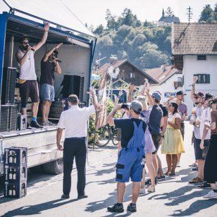 Mit Bierwagen, Pauken und Trompeten durchs Oberland: Das Spezltour-Finale 2019 mit Hacker-Pschorr