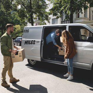 Umziehen mit Transporter-Sharing. Ein Selbstversuch