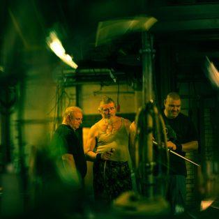 Nachts in der Glashütte: Fotografien von Matthias Kofahl an der HFF ab 13.12.