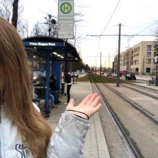 Meine Halte: Prinz-Eugen-Park alias Pionierschule!