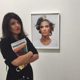 Münchner Gesichter: Kathrin Shadi Aftahy vermittelt Künstler*innen