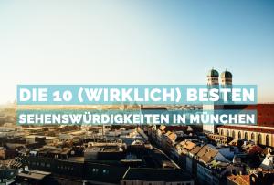 Sehenswuerdigkeiten in München