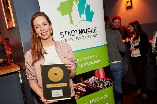 stadtmucke Gewinnerin Christin Henkel