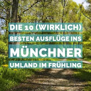 Die 10 (wirklich) besten Ausflüge ins Münchner Umland im Frühling