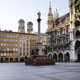 Willkommen in der Geisterstadt: so leer war München noch nie