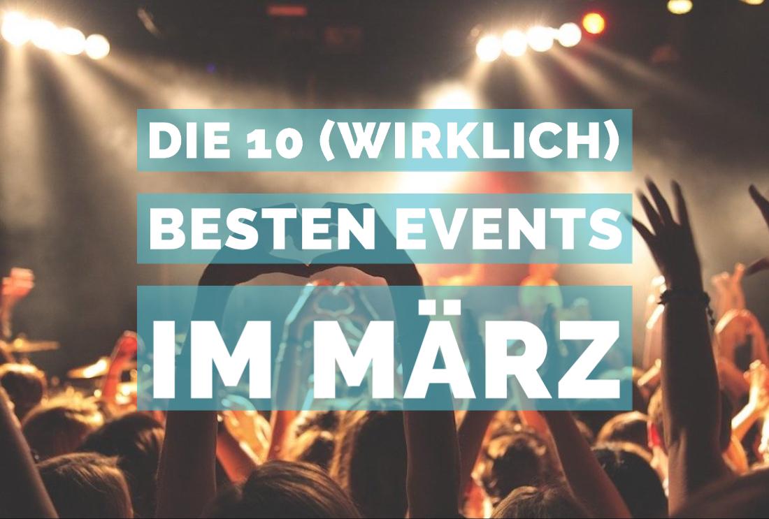 Beste Events im März in München 2020