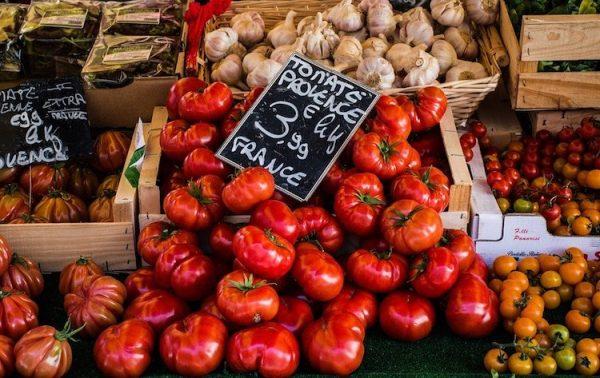 Obst und Gemüse beim ÖkoEsel zum Liefern