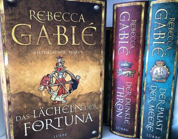 Das Lächeln der Fortuna, historische Romane von Rebecca Gablé Buchempfehlung