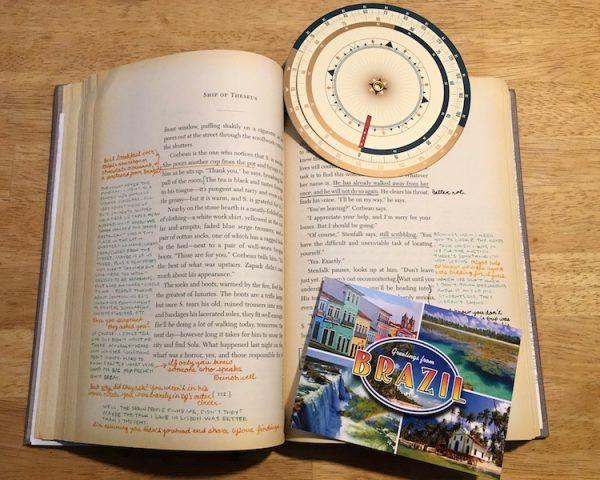 S. Das Schiff des Theseus experimenteller Roman Buchempfehlung