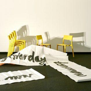 Let's Talk About Time – ein temporäres Kunstprojekt mit Asta von Unger im Mucbook Clubhaus