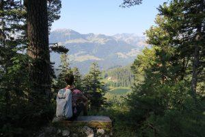 Wandern zum Bichlersee