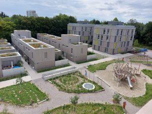 Die Mustersiedlung am Prinz-Eugen-Park