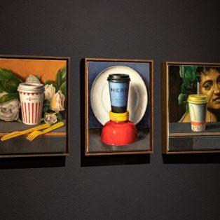 "Gesellschaftskritik To-Go                                                       Die Kunstausstellung ""Best Before End"""