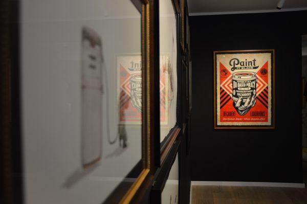 Bild vom Ausstellungsraum positive propaganda