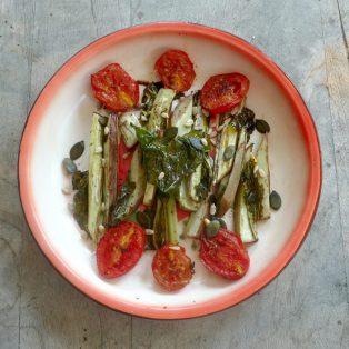 Auf den Teller anstatt in den Müll – Ein Gemüse Rezept
