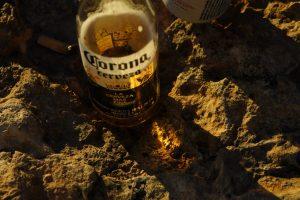 Corona. Virus und Bier.
