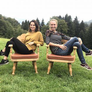 Münchner Gesichter mit den Gründerinnen des Aha-Retreats