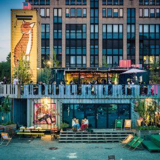 Platz für neue Ideen: Das Werksviertel-Mitte sucht neue Mieter*innen für das Container Collective
