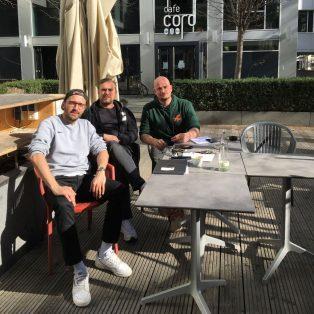 Mitte März soll's losgehen: Das Café Cord wird zum Kranich