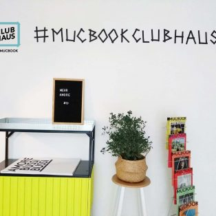 MUCBOOK  CLUBHAUS goes worldwide! (oder zumindest fast)