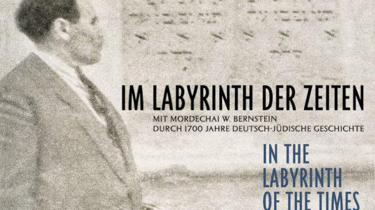 Mordechai W. Bernstein in Rothenburg ob der Tauber, um 1950 © Karen Leon, Laura Leon und Nina Leon, New York