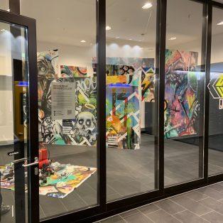 "Kunst während Corona: Streetart-""Drive In Gallery"" eröffnet"