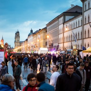 Aktuelles aus der Schlafstadt: Wird die Ludwigstraße zur anarchischen Zone?