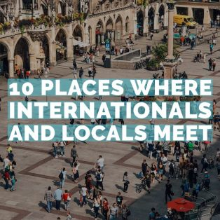 ENGLISH: 10 Places Where Internationals and Locals Meet
