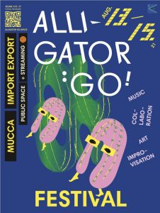 Festival Plakat Alligator:Go Festival