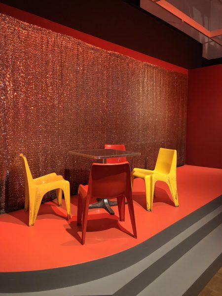Interieur aus dem Atomic Café