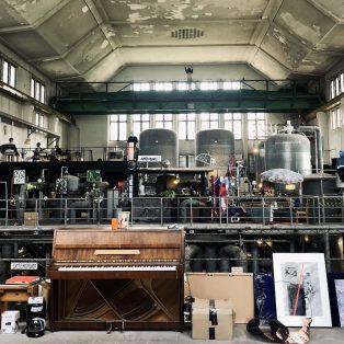 Kunst statt Leerstand: Das Maschinenhaus lässt die wilden 70er wieder aufleben