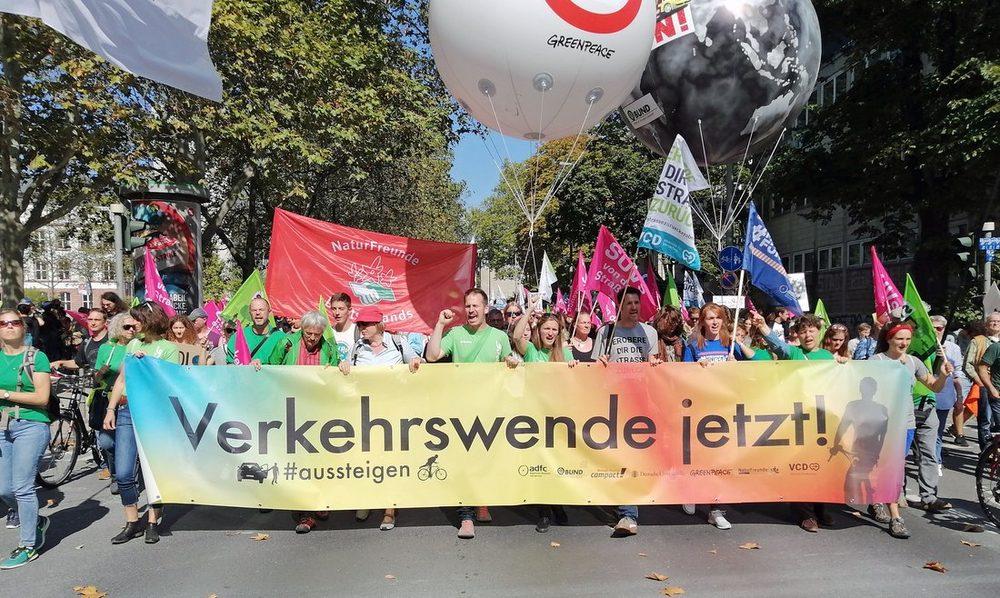 Demonstration anlässlich der IAA