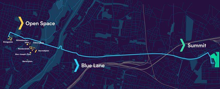 Blue Lane Übersicht