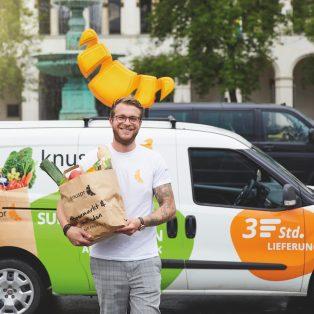 Frische Lebensmittel direkt nach Hause geliefert – bei Knuspr kann man jetzt den ganzen Wocheneinkauf bestellen