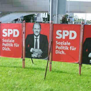 Im Münchner Wahlplakat-Dschungel
