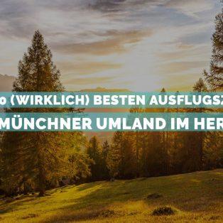 Die 10 (wirklich) besten Ausflugsziele ins Münchner Umland im Herbst
