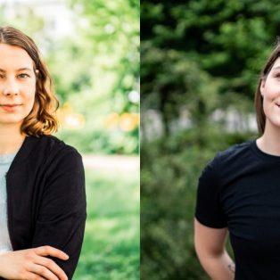 Frischer Wind in Berlin: Die neuen Grünen-Abgeordneten Jamila Schäfer und Saskia Weishaupt